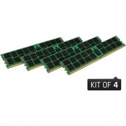 PC Memorijski komplet Kingston KVR24R17S8K4/16 16 GB 4 x 4 GB DDR4-RAM 2400 MHz CL 17-17-17