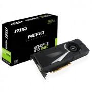 Placa video MSI GeForce GTX 1080 AERO 8G OC, 1708 (1847) MHz, 8GB GDDR5X, 256-bit, DL-DVI-D, HDMI, 3xDP