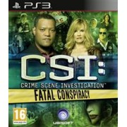 CSI Fatal Conspiracy Ps3