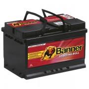 Banner Starting Bull 12V 72Ah 650A 57212 autó akkumulátor jobb+ (+AJÁNDÉK!)