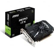 Paca video msi Aero GeForce GTX 1050 ITX OCV1 2GB GDDR5 (128-bit), DVI-D, HDMI, DisplayPort, BOX (1050 AERO GTX OCV1 2G ITX)