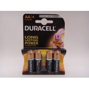 Duracell LR6 AA 1.5V Duralock baterii alcaline MN1500 blister 4