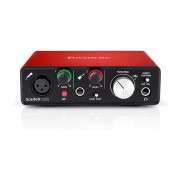 Interfaz De Audio Focusrite Scarlett USB Solo 2da Generación