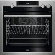 AEG BSE572321M 1basket(s) Integrado 3380W Negro, Acero inoxidable vapo