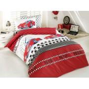 Lenjerie de pat, Majoli Bahar Home Collection, material: 100% bumbac