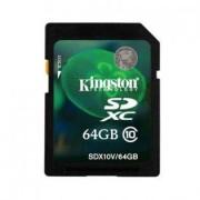 Kingston SDXC minneskort Class 10 64GB