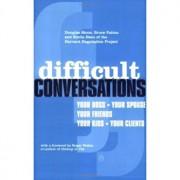 Difficult Conversations, Paperback/***