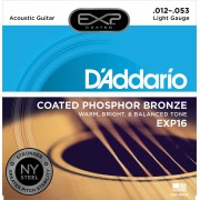 D'Addario EXP-16 Phosphor Bronze Light