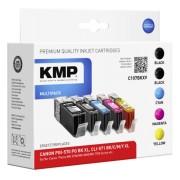 KMP C107BKXV Multipack comp. with Canon PGI-570/CLI-571 XL