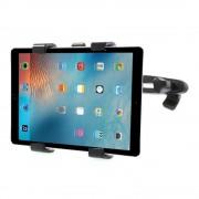 Shop4 - iPad Pro 10.5 Autohouder Hoofdsteun Tablet Houder Zwart