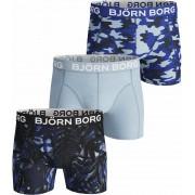 Björn Borg Shorts 3er-Pack Navy Blue - Blau M
