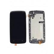 Дисплей + Тъч скрийн + Рамка за HTC Desire 500 Черен