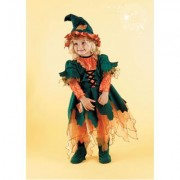 Costume Streghetta del bosco 2/3 anni