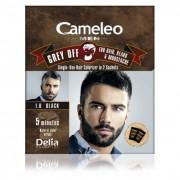 Farba protiv sedih za kosu, bradu i brkove CAMELEO MEN 1.0 crna 2x15ml