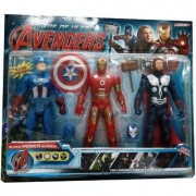 Super Power Heroes -Avengers 3 In 1 Action Figure Set- Gift Your Kids