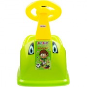 Florite Car Design Potty Seat for Baby Potty Training Seat for Kids Potty Chairs for Kids with Removable Bowl - Green