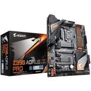 GIGABYTE Main Board Desktop Intel Z390 (S1151v2, 4xDDR4, Realtek ALC892, 10/100/1000 Mbit, 1xPCIEX16, 1xPCIEX4, 3xPCIEX1, 2xM.2, 6xSATA 6Gb/s, 4xUSB 2.0, 1 x HDMI, 4xUSB 3.1, 2xUSB 3.1, 1xRJ-45 port) ATX, Retail.