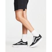 Vans Classic Old Skool black trainers - female - Black - Size: 3