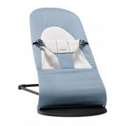 BABYBJÖRN Transat Balance Soft - Bleu/Gris, Cotton/Jersey