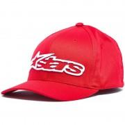 Alpinestars Blaze Flexfit Cap Blanco Rojo L XL
