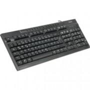 Клавиатура HAMA AK-220, мултимедийна, черна, USB