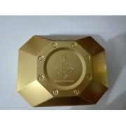 Prázdna Plechová Krabica Paco Rabanne 1 Million, Rozmery: 25cm x 20cm x 7cm