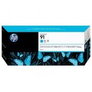 HP Tinteiro (C9467A) Nº91 Azul com Tinta Vivera
