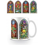 Pyramid Legend of Zelda - Stained Glass Mug