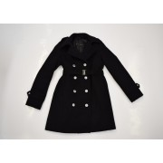 Dívčí zimní kabátek s dvouřadovým zapínáním