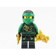 LEGO Ninjago Minifigure - Lloyd Skybound with Dual Gold Weapons (70601)