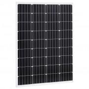 vidaXL Panel słoneczny, 100 W, monokrystaliczny, aluminium i szkło