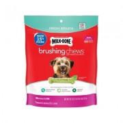 Milk-Bone Fresh Breath Brushing Chews Daily Dental Dog Treats, Mini, 68 count