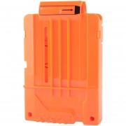 6 Suave Bullets Ammo Cartridge Clips Para Nerf N-strike Pistola Juguete - Naranja