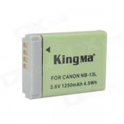 Bateria de 1250mAh Kingma NB - 13L para Canon PowerShot G7 X - gris + verde
