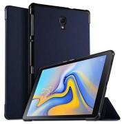 Tri-Fold Series Samsung Galaxy Tab A 10.5 Smart Folio Hoesje - Donkerblauw
