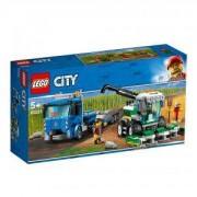 Конструктор Лего Сити - Транспортьор за комбайни, LEGO City 60223