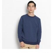 リップルニット【ザ ショップ ティーケー/THE SHOP TK メンズ ニット・セーター ネイビー(393) ルミネ LUMINE】