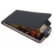 Zwarte Luxe TPU Flipcase voor de Nokia 8