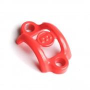 Clema Carbotecture® Magura, neon-red, fara suruburi 2700752