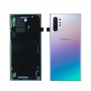 Tampa traseira para Samsung Galaxy Note 10 plus aura glow