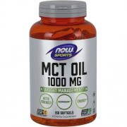 Now Foods MCT Oil 1000mg Now Foods 150softgels