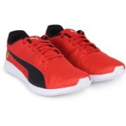 Puma SF F117 Jr Running Shoes For Women(Red, Black)