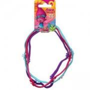 Комплект детски ленти за коса с цветя, Trolls, 20631