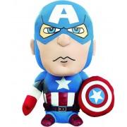 Underground Toys Marvel - Captain America Talking Plush - 20 cm