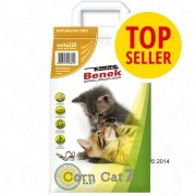 Benek Super Benek Corn Cat Natural - 25 l
