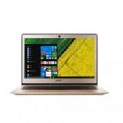 "Лаптоп Acer Aspire Swift 1 (NX.GNMEX.003)(златист), четириядрен Apollo Lake Intel Pentium N4200 1.1/2.5 GHz, 13.3"" (33.78 cm) Full HD IPS дисплей(HDMI), 4GB DDR3L, 128GB SSD, 1x USB Type-C, Windows 10, 1.3kg"