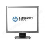 HP Moniteur HP 19' LED - EliteDisplay E190i 1280 x 1024 pixels - 8 ms - Format 4/3 (5/4) - Dalle IPS - Hub USB - Argent/Noir