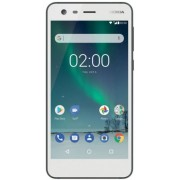 "Telefon Mobil Nokia 2, Procesor Quad Core 1.3 GHz, LTPS LCD, 5.0"", 1GB RAM, 8GB Flash, 8MP, Wi-Fi, 4G, Dual Sim, Android (Alb) + Cartela SIM Orange PrePay, 6 euro credit, 4 GB internet 4G, 2,000 minute nationale si internationale fix sau SMS nationale din"