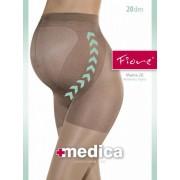 Fiore Tunn strumpbyxa för gravida Mama 20 graphite 3