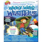 Scientific Explorer Wacky Weird Weather Kit For Ages 12+ Make a tornado- create a tidal wave- make powerful weather effects and whip up a blizzard
